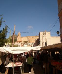 Wochenmarkt jeden Mittwoch in Andratx Mallorca
