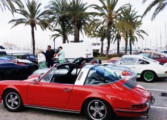 jeden Mittwoch Oldtimer Treffen Palma de Mallorca