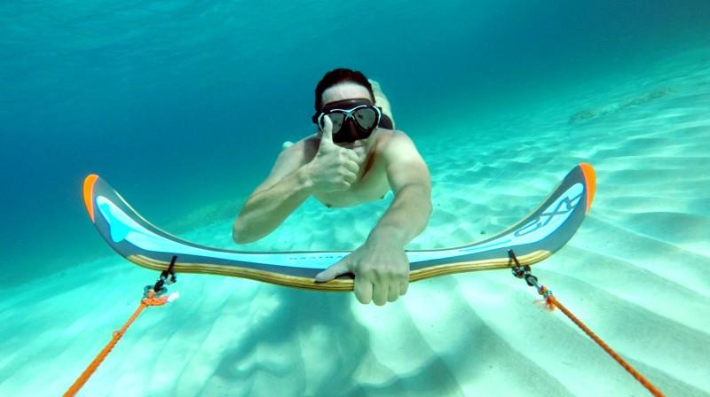 Ray Diving Mallorca Die neue Wassersport Art auf Mallorca