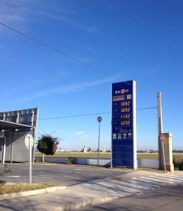 günstigste Tankstelle Mallorca
