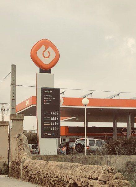 Benzinpreise fallen auf Mallorca