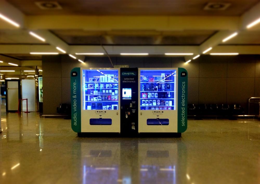 Technik Automat am Flughafen