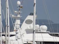 Al Mirqab Super Yacht in Palma 133 Meter lange Super Yacht