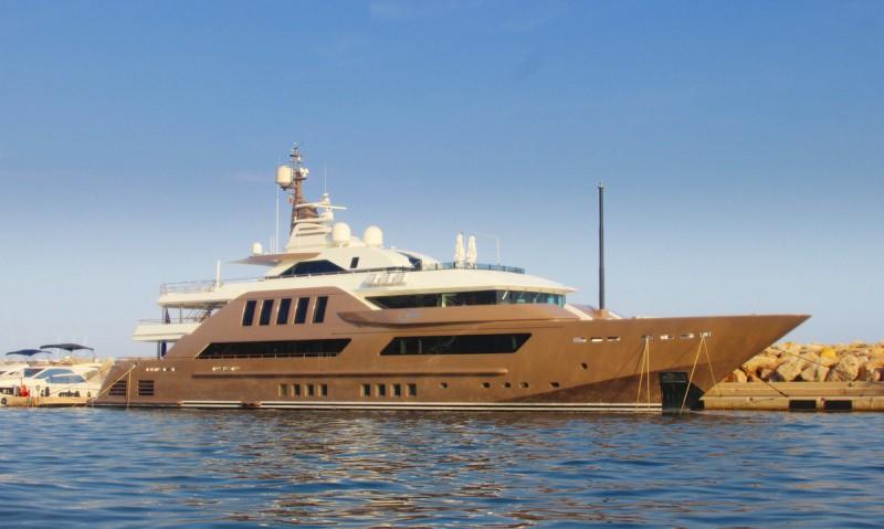 Puerto Portals Hafen - Luxus Yacht Jade