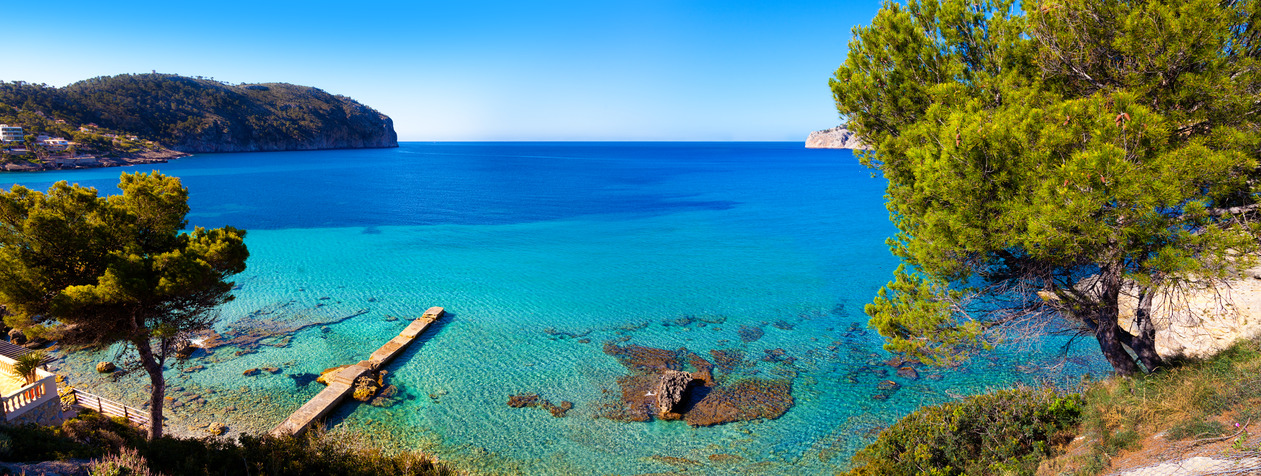 Idyllic Sea View in Mallorca, Spain