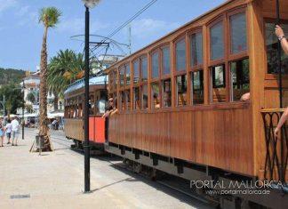 Der Fahrpreis Roter Blitz von Palma nach Sóller